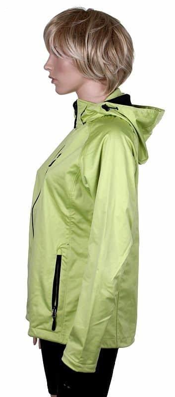 Černá softshellová dámská bunda Lambeste - velikost M