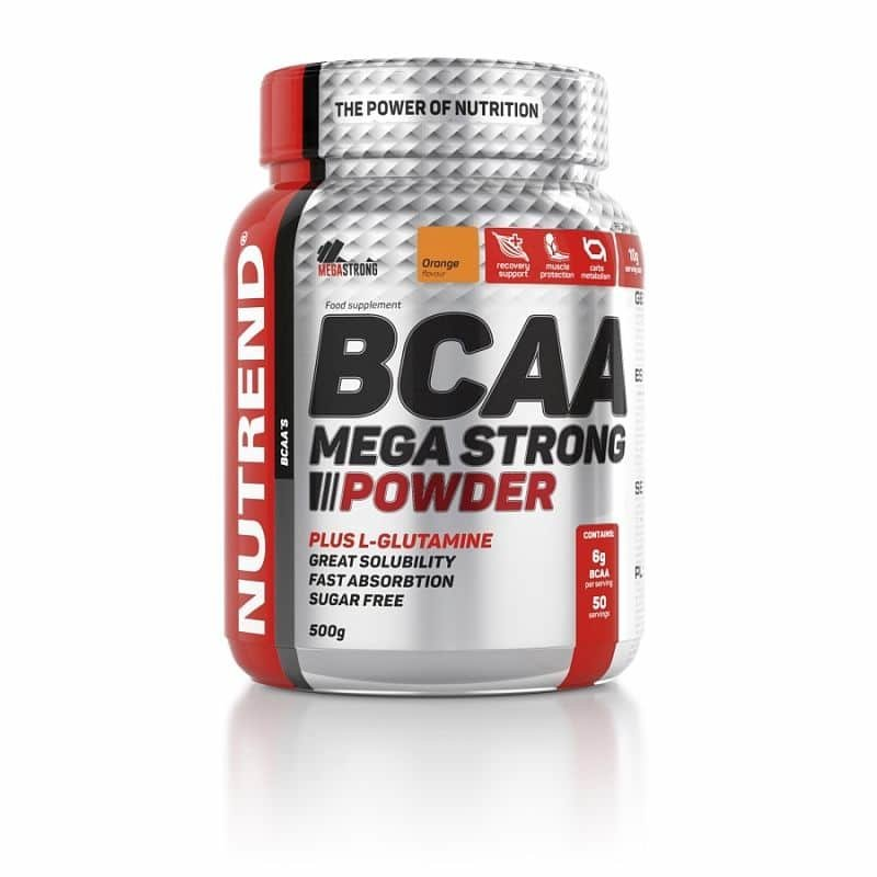 BCAA - NUTREND BCAA MEGA STRONG 500 g 500g Grep