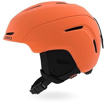 Oranžová dětská lyžařská helma Giro - velikost 55,5-59 cm