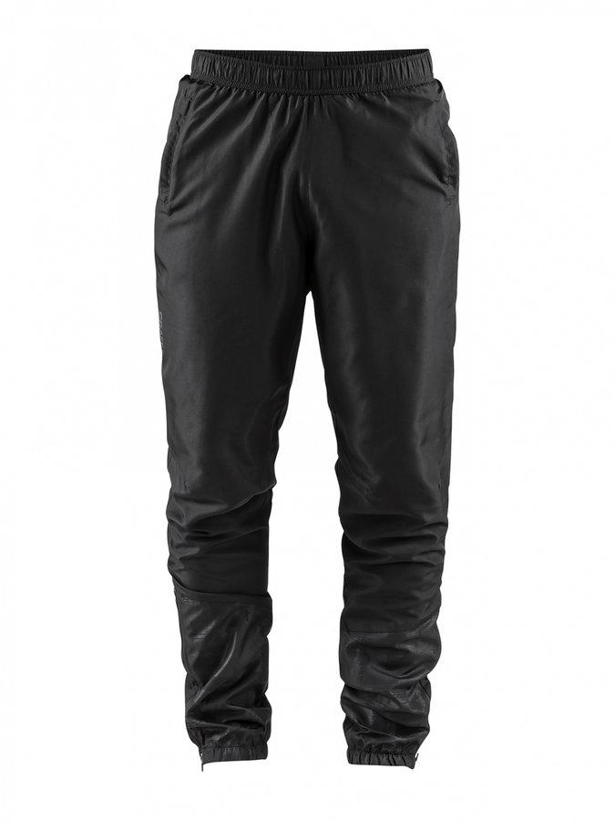 Černé dlouhé pánské cyklistické kalhoty Craft - velikost L