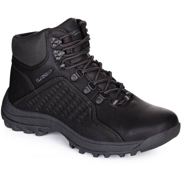 Černé pánské zimní boty Loap