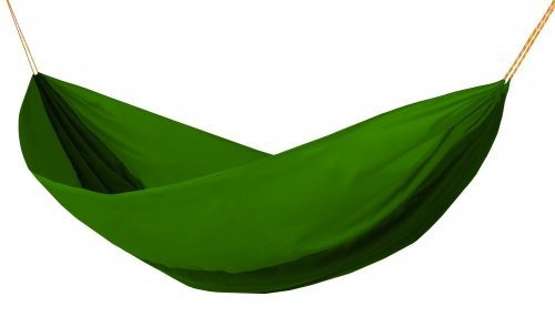 Zelená houpací síť pro 2 osoby Hamaka