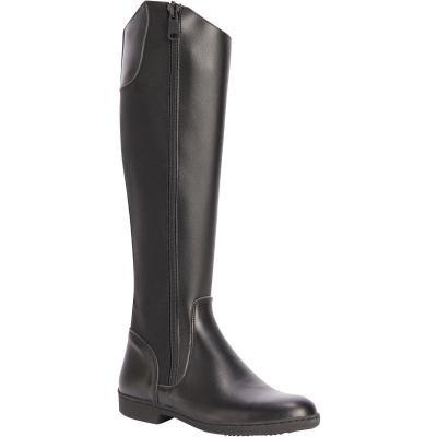 Černé jezdecké boty Fouganza