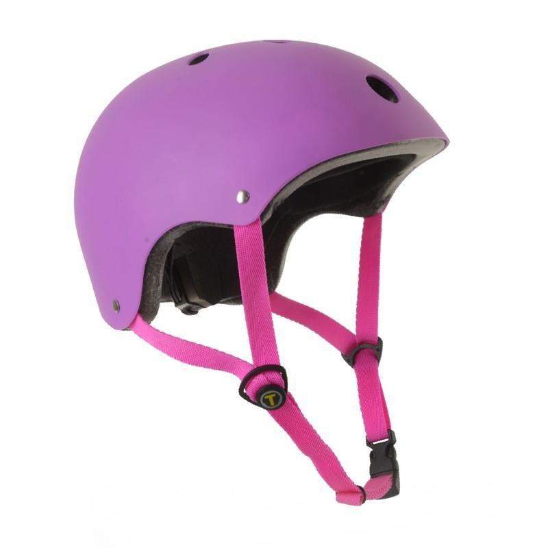 Cyklistická helma - SMART TRIKE - Dětská přilba, S - fialová