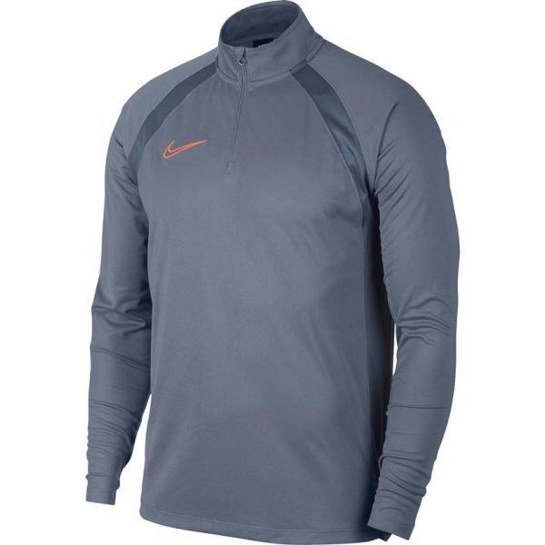 Modré pánské tričko s dlouhým rukávem Nike - velikost XL