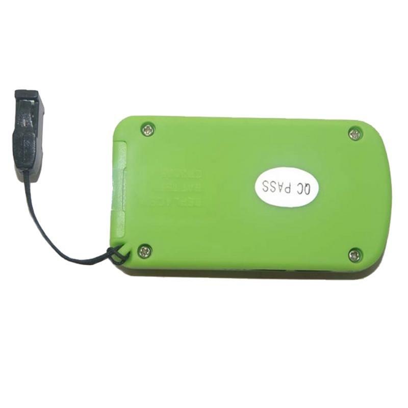 Zelený digitální krokoměr s 3D senzorem JS-218, Junso