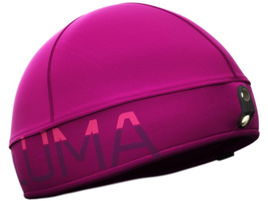 Fialová unisex běžecká čepice Active Led Light, LUMA