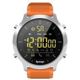 Oranžové chytré hodinky SurfWatch, Sponge