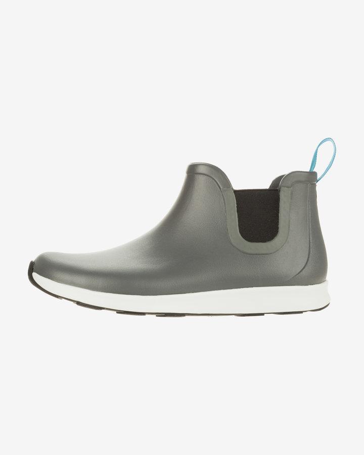 Šedé pánské kotníkové boty Native Shoes
