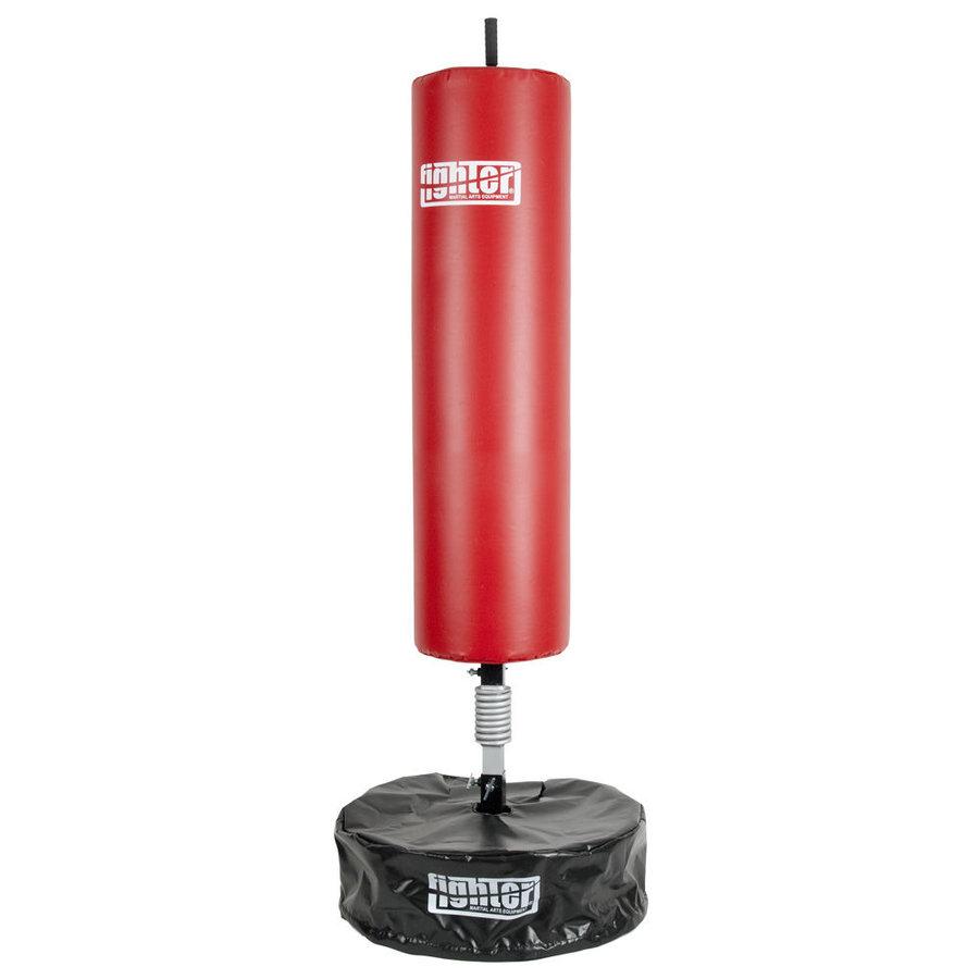 Boxovací pytel - Volně stojící boxovací pytel Fighter - červená/černá - červená