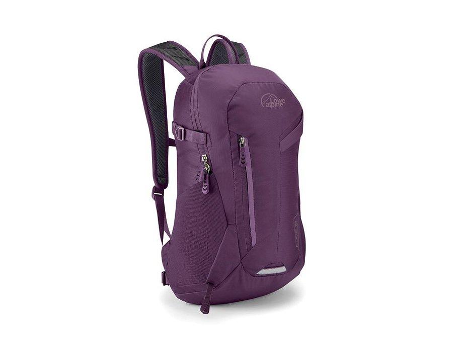 Fialový turistický batoh Lowe Alpine - objem 18 l