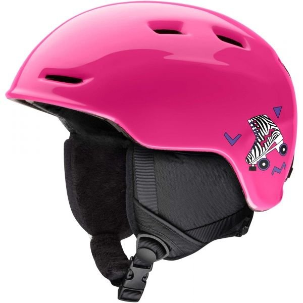 Růžová dívčí lyžařská helma Smith