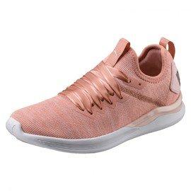 Růžová dámská tenisová obuv IGNITE Flash evoKNIT Satin, Puma