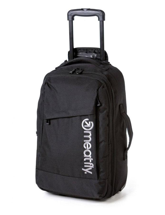 Batoh - Meatfly Revel Trolley Bag A - Black Velikost: JEDNOTNÁ VELIKOST