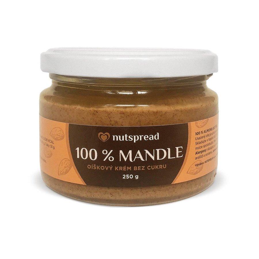 Máslo - 100% Mandlové máslo NUTSPREAD 250g
