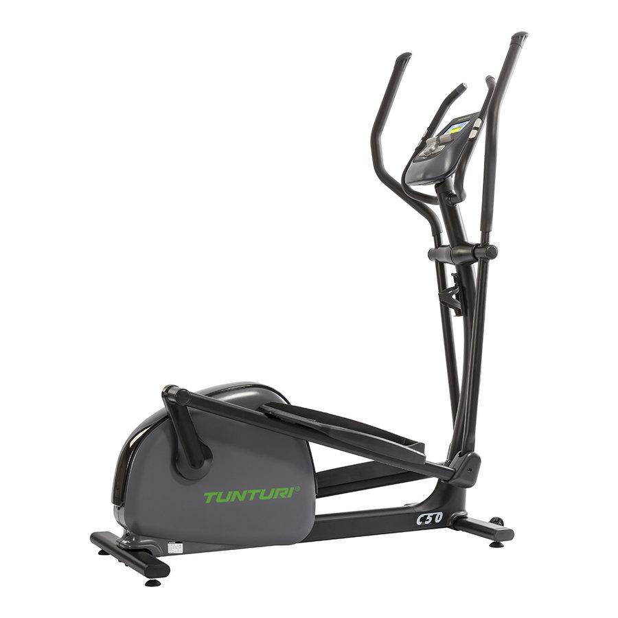 Magnetický eliptický trenažér C50 Crosstrainer Performance, Tunturi - nosnost 135 kg