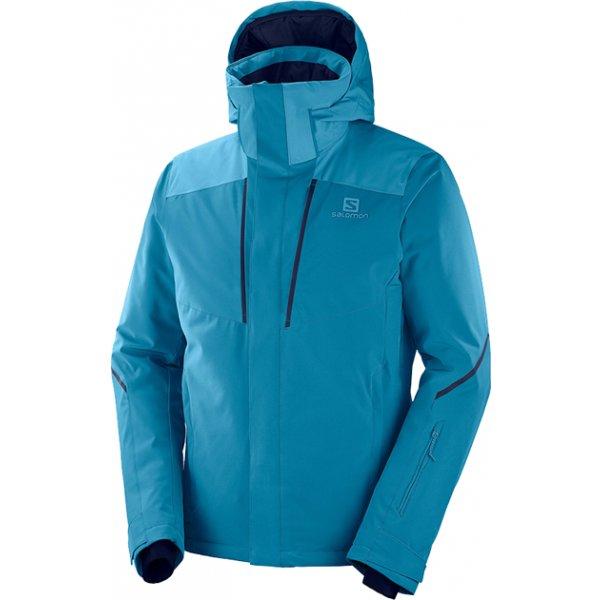 Modrá pánská lyžařská bunda Salomon