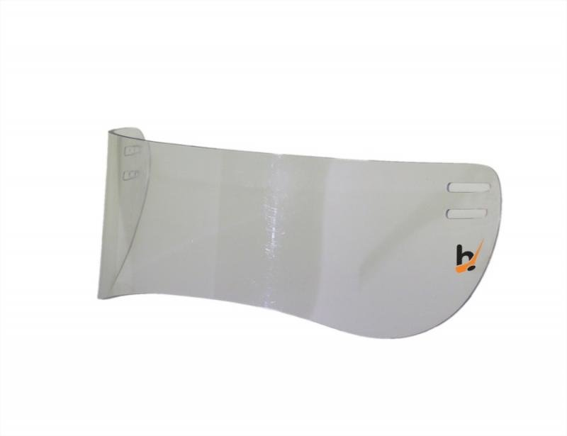 Plexi na hokejovou helmu - Hejduksport MH 030 (rovné) plexi