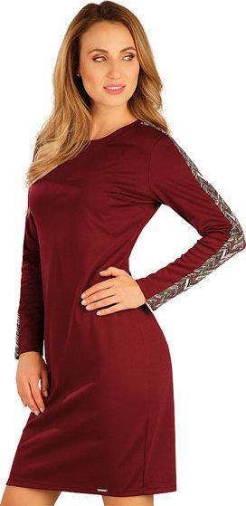 Červené dámské šaty Litex