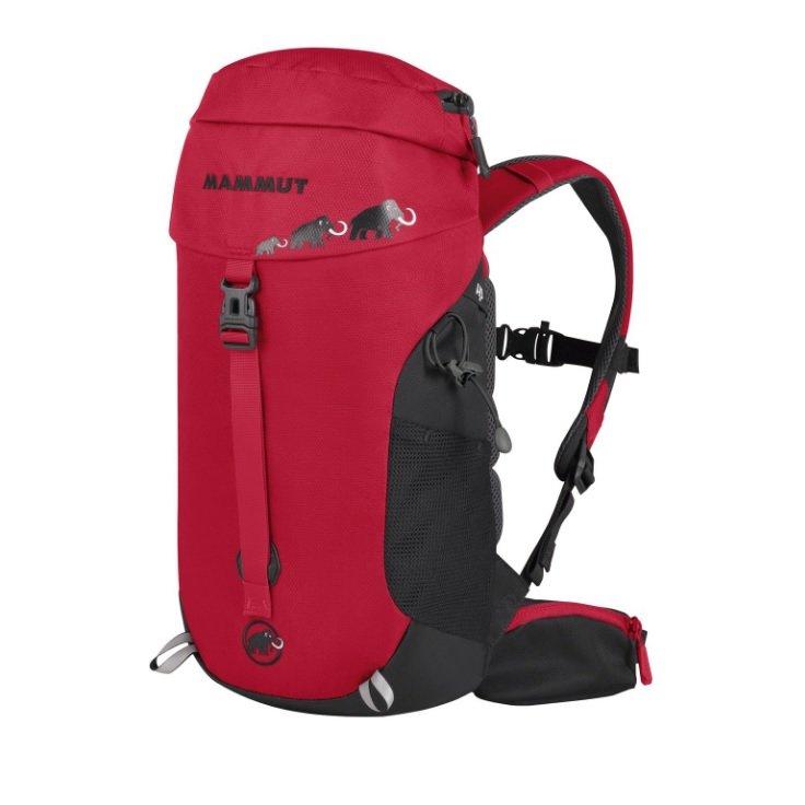 Černo-červený batoh First Trion, Mammut - objem 12 l