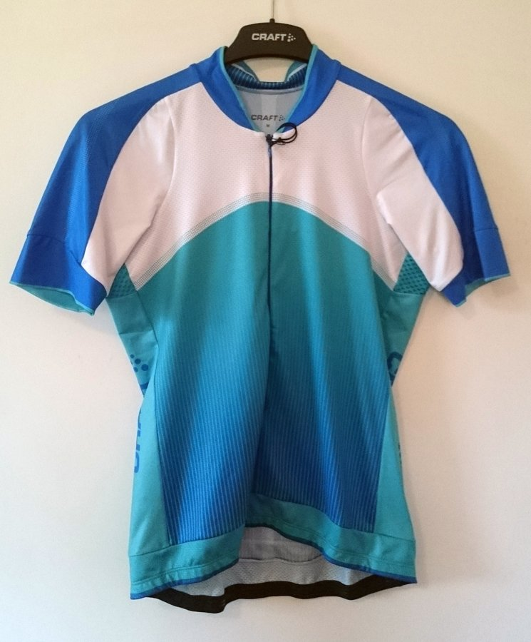 Zelený dámský cyklistický dres Craft - velikost M