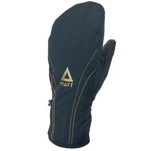 Černé dětské lyžařské rukavice Matt