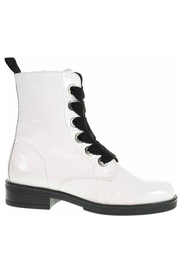 Bílé dámské kotníkové boty Gabor