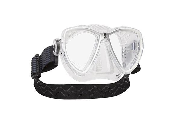 Potápěčská maska - Maska potápěčská Synergy Mini Scubapro - designová maska - bílo/stříbrná - čirá