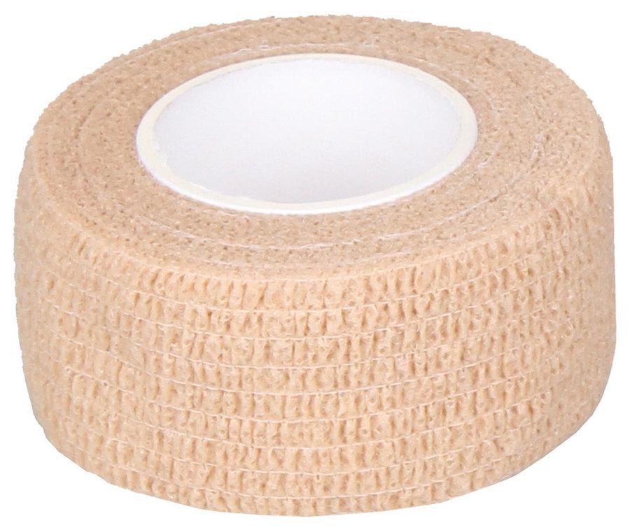 Béžová tejpovací páska Merco - délka 4,5 m a šířka 5 cm