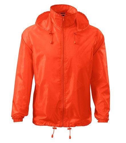 Oranžová cyklistická bunda Adler