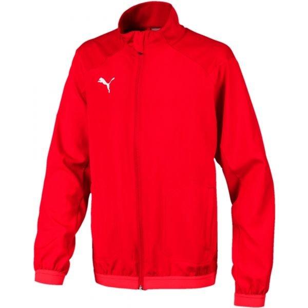 Červená chlapecká bunda Puma