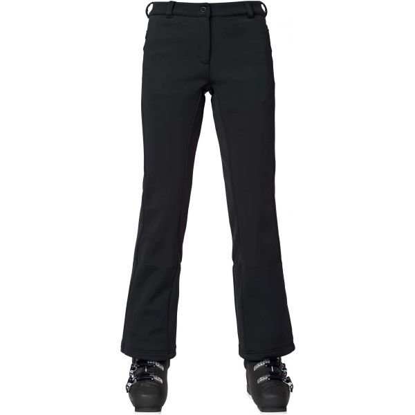 Černé softshellové dámské kalhoty Rossignol