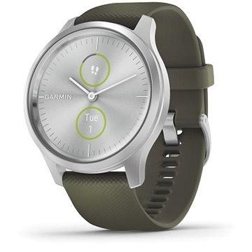 Zelené chytré hodinky VivoMove 3 Style, Garmin
