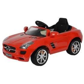 Červené dětské elektrické autíčko Mercedes-Benz SLS, Buddy Toys