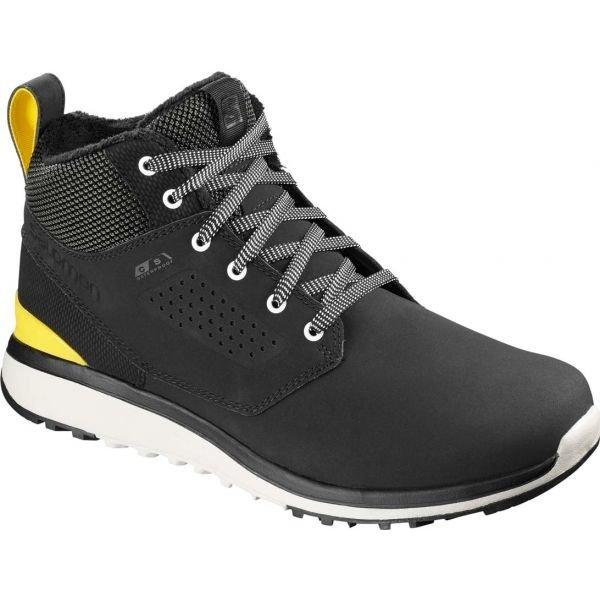 Černé pánské zimní boty Salomon