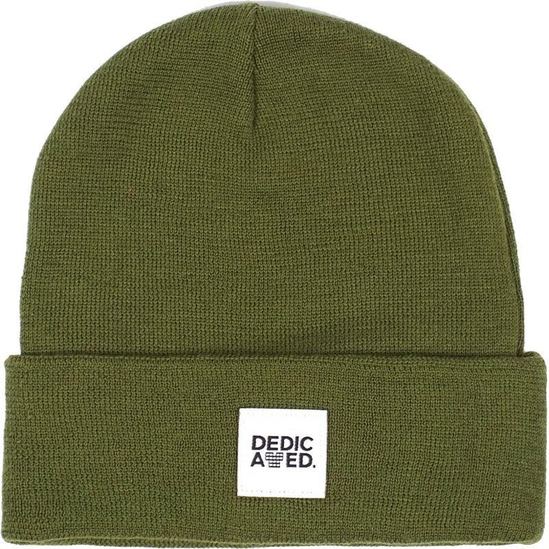 Zelená zimní čepice Dedicated - univerzální velikost