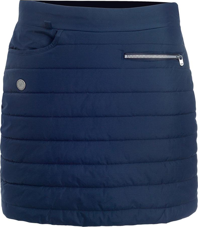 Modrá dámská sukně Woox