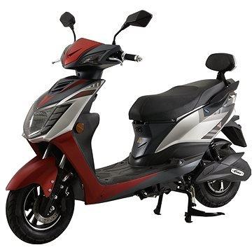 Červená elektrická motorka City GTR, Racceway