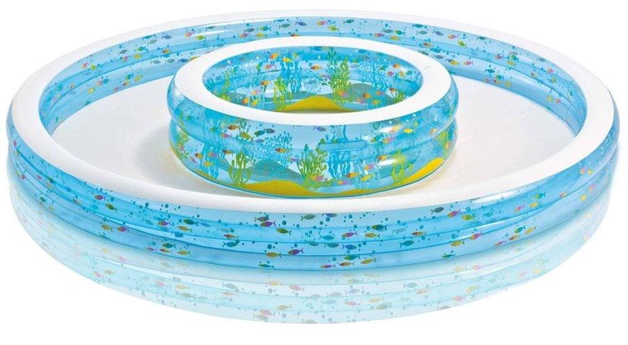 Dětský nadzemní kruhový bazén INTEX - průměr 279 cm a výška 36 cm