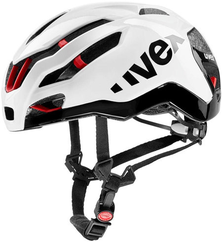 Bílá cyklistická helma Uvex - velikost 53-57 cm