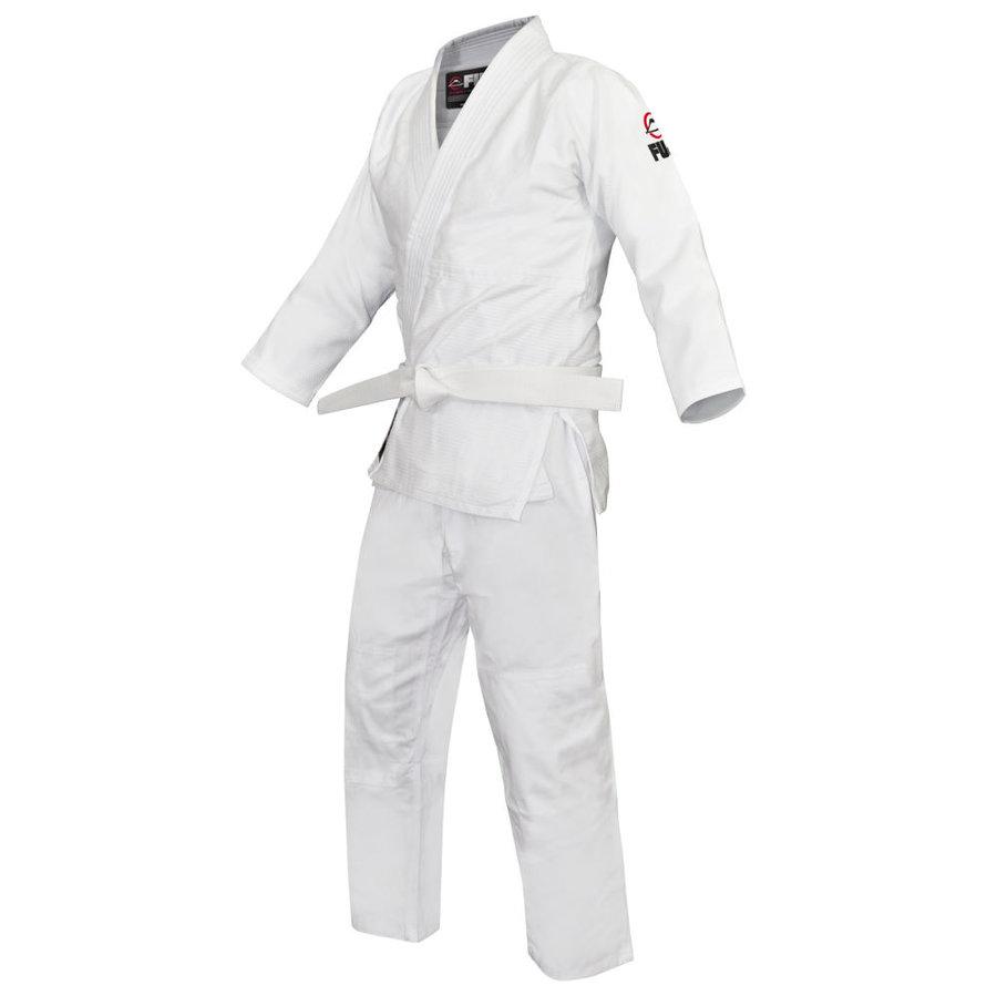 Bílé kimono na judo Hayashi - velikost 137