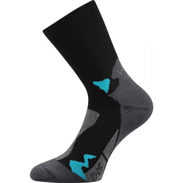 Trekové ponožky - Voxx BOLT černá 23-25 - Univerzální turistické ponožky