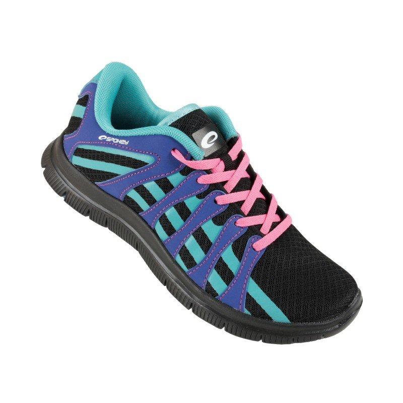 Černo-modré pánské nebo dámské běžecké boty Spokey - velikost 38 EU
