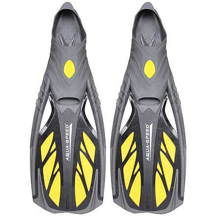 Černo-žluté dlouhé ploutve Inox, Aqua-Speed