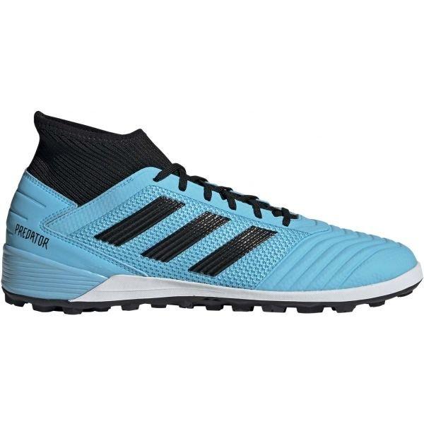 Modré pánské kopačky turfy Adidas - velikost 46 2/3 EU