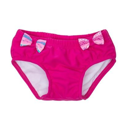 Růžové dívčí plavky Nabaiji