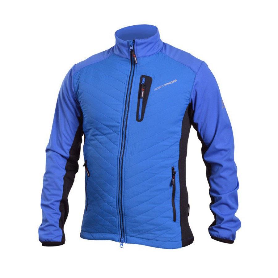 Modrá pánská bunda NorthFinder - velikost M