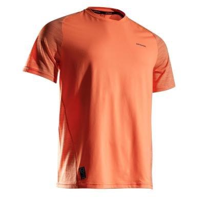 Oranžové pánské tenisové tričko Artengo - velikost L