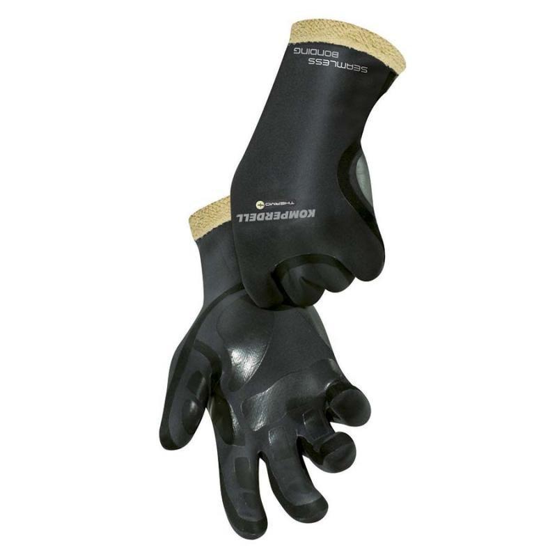 Černé pánské lyžařské rukavice Komperdell - velikost XL