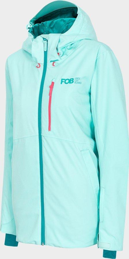 Modrá dámská snowboardová bunda 4F - velikost XL